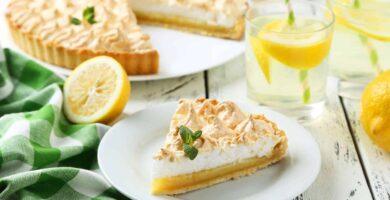 receta de pay de limon