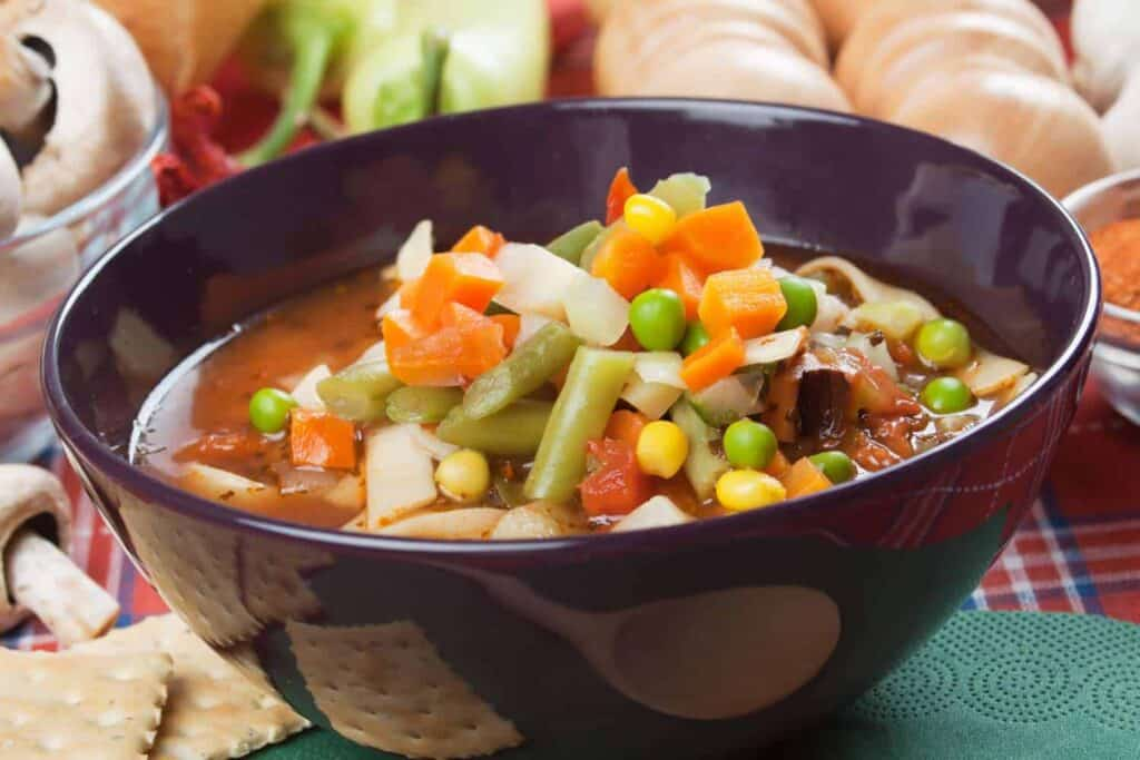 Menestra de verduras receta