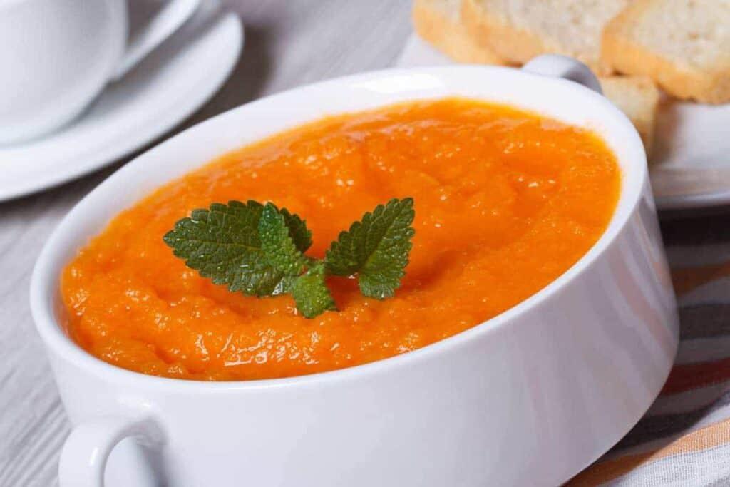 receta crema de zanahoria