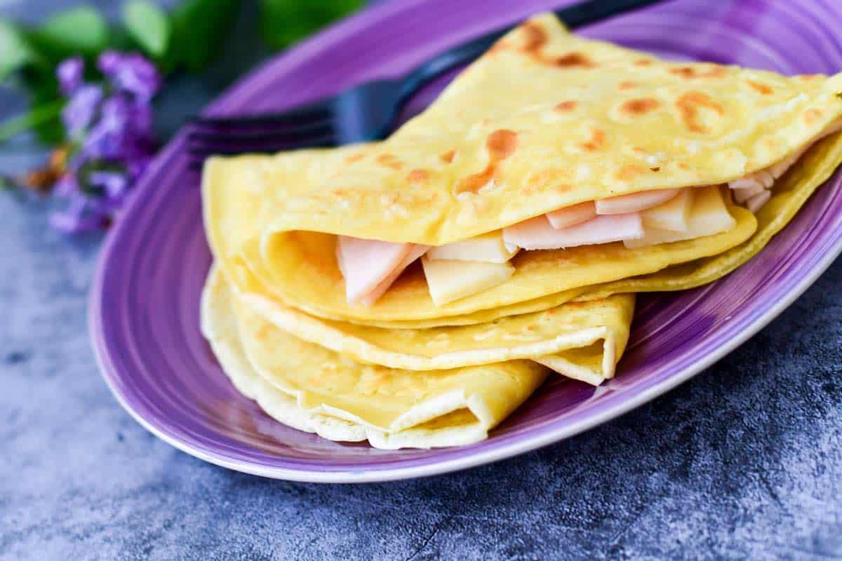 Cómo Hacer Crepas Receta De Crepas Dulces Y Saladas Cocina Guru