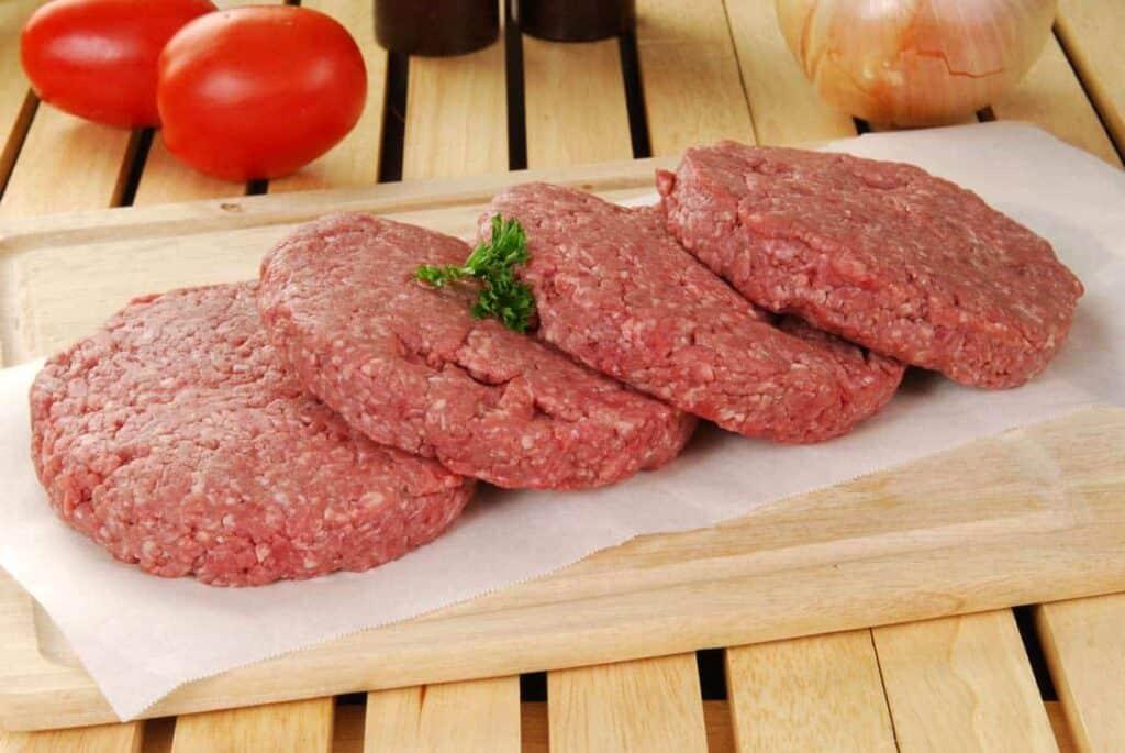 hacer carne para hamburguesa