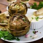 receta alcachofas al horno