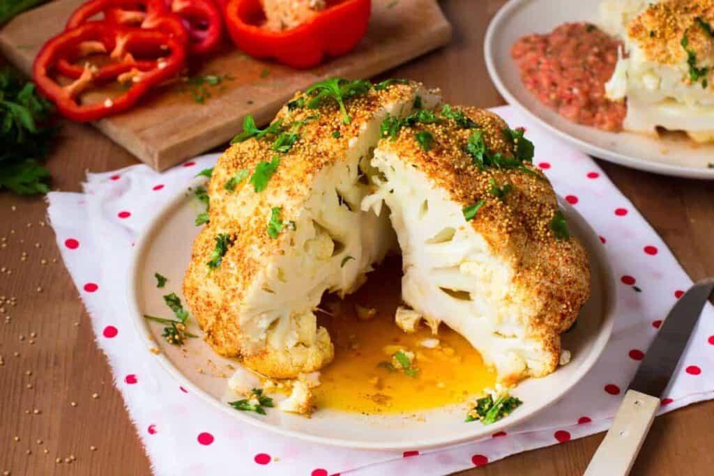 receta coliflor al horno