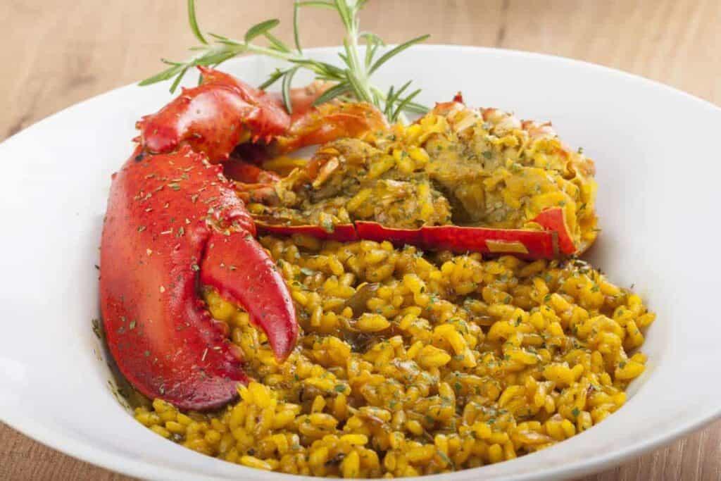 arroz con bogavante