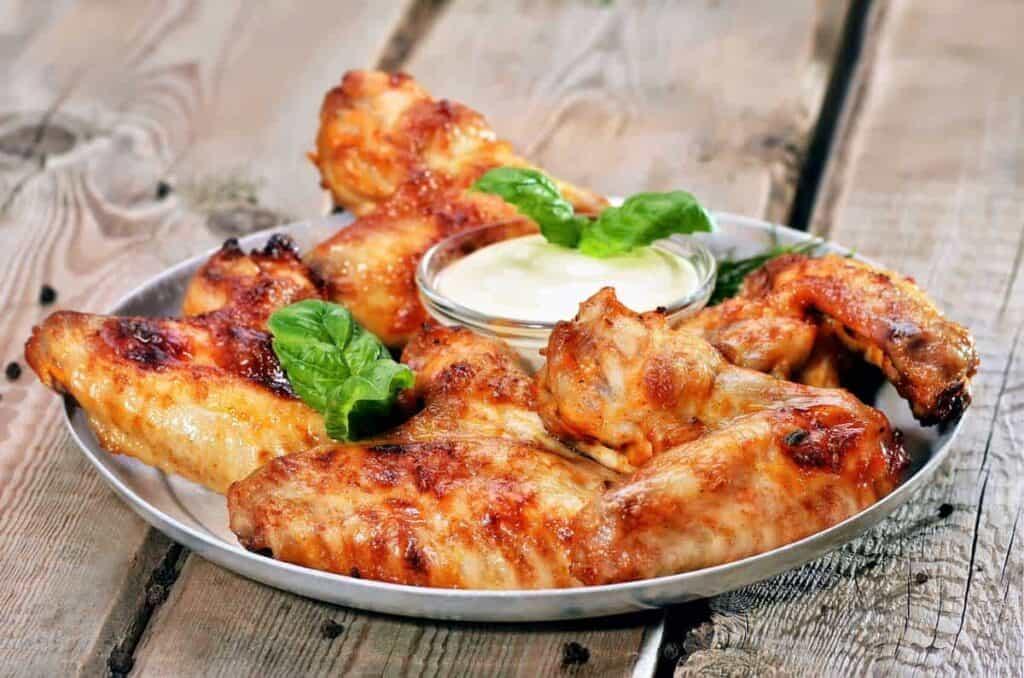 receta Alitas de Pollo al Horno