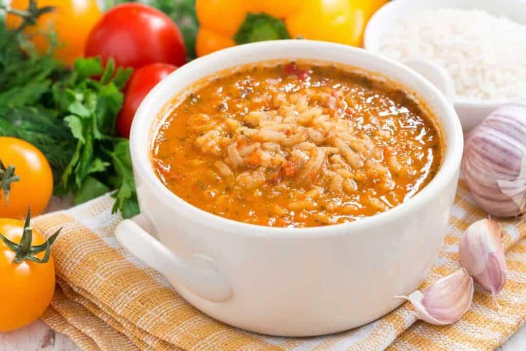receta arroz caldoso