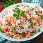 receta arroz con verduras