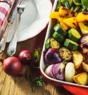 receta verduras al horno