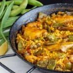 receta arroz con conejo