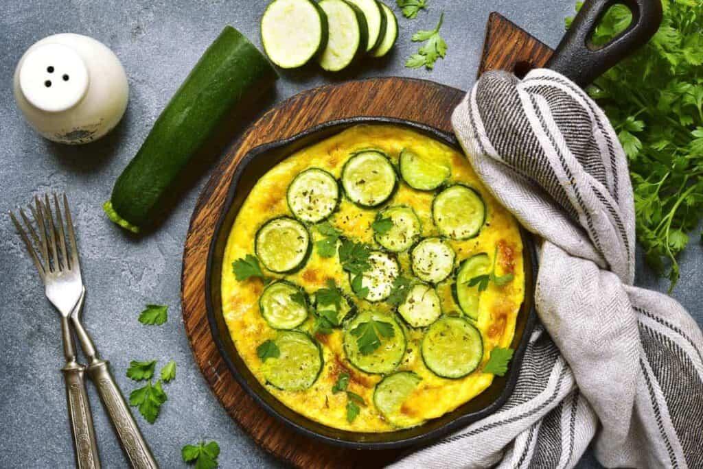 receta tortilla de calabacin