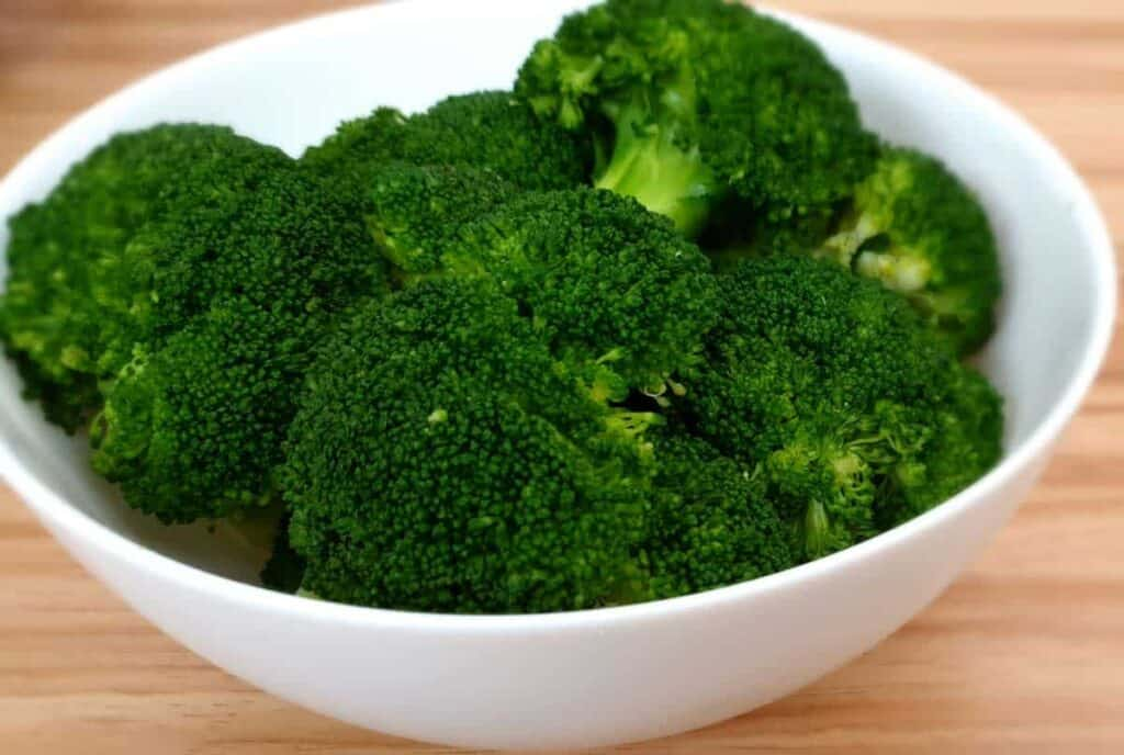 receta brocoli al vapor