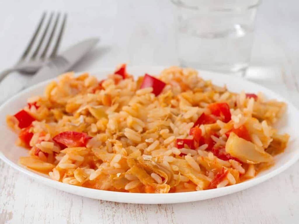 receta arroz con bacalao