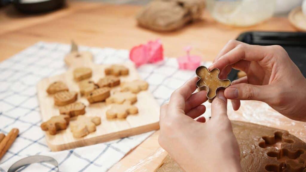 preparar galletas navideñas con jengibre
