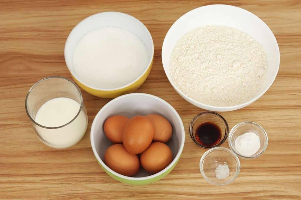 ingredientes bizcocho casero
