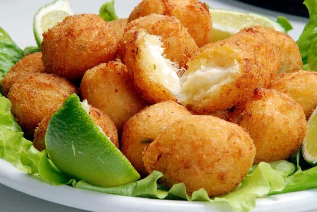 receta buñuelos de bacalao