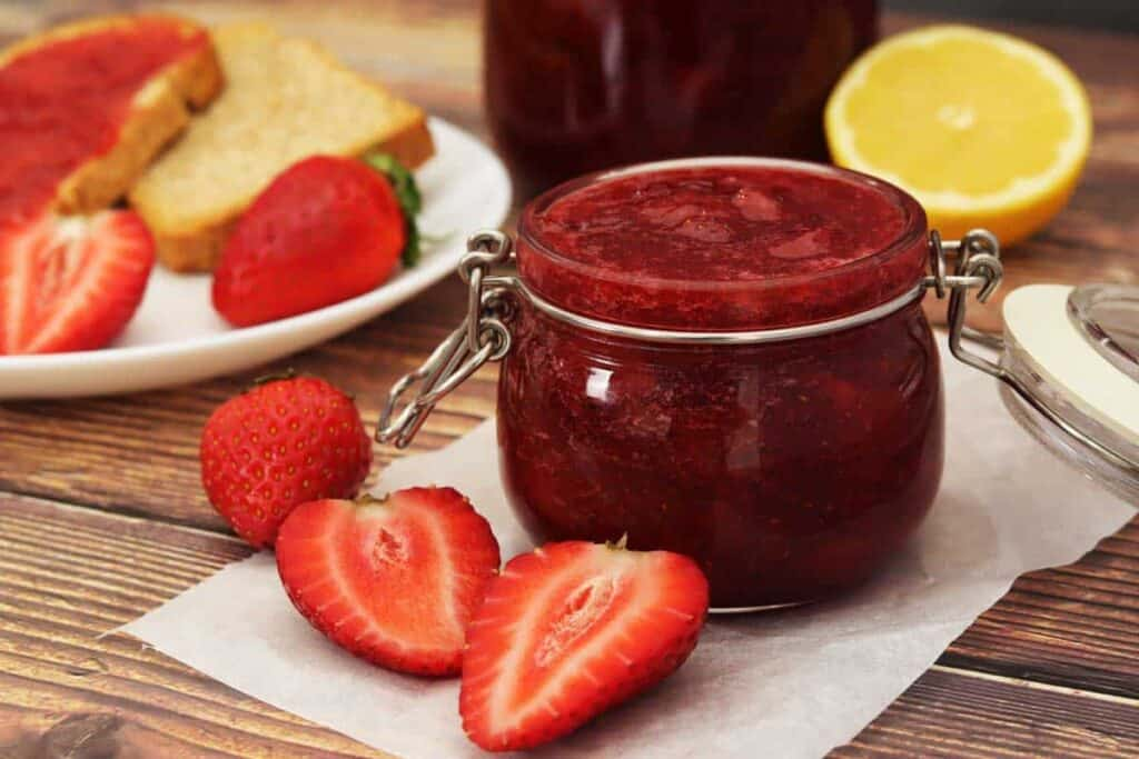 receta mermelada de fresa