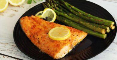 salmón al horno