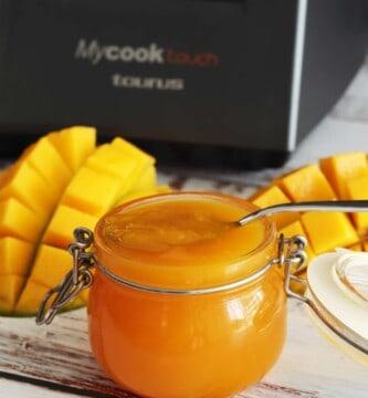 mermelada de mango en mycook touch